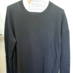 Theory Karenia Cashmere Sweater Black Size M
